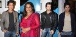Shah Rukh Khan, Vidya Balan, Hrithik Roshan, Varun Dhawan at Dabboo Ratnani's Calendar 2013 Launch