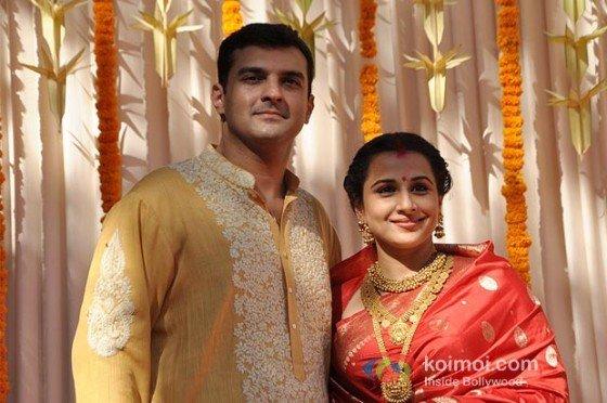 Siddharth Roy Kapoor & Vidya Balan's Wedding Pictures