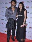 Sunil Shetty And Mana Shetty At 58th Filmfare Awards Nominations Party