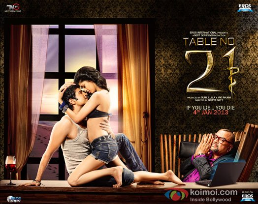Table No. 21 Review (Table No. 21 Movie Poster Wallpaper)