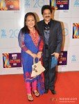 Udit Narayan at Zee Cine Awards 2013