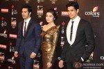 Varun Dhawan, Alia Bhatt, Siddharth Malhotra at Colors Screen Awards 2013