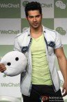 Varun Dhawan at Launch of Tencent's We Chat messenger