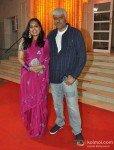 Vikram Bhatt with wife Aditi Bhatt At Udita Goswami, Mohit Suri's Wedding Ceremony