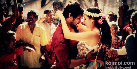 Vikram And Isha Sharvani (David Movie Stills)