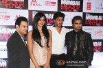 Vimala Raman, Shah Rukh Khan, Sachiin Joshi at 'Mumbai Mirror' Premiere