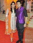 Vishal Malhotra with wife Rashi At Udita Goswami, Mohit Suri's Wedding Ceremony