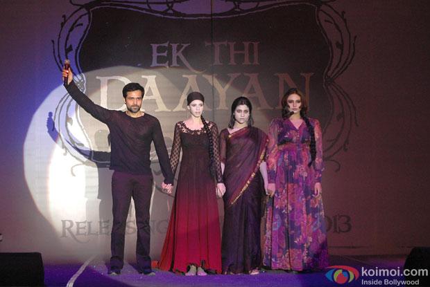 Emraan Hashmi, Kalki Koechelin, Konkona Sen Sharma and Huma Qureshi