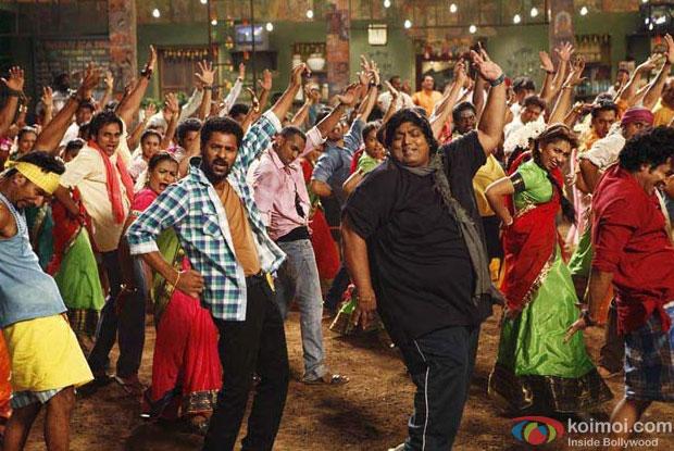 Prabhu Deva and Ganesh Acharya in a still from ABCD – Any Body Can Dance Movie