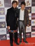 Aadesh Shrivastava walk the Red Carpet of 'Mirchi Music Awards' 2013