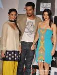 Aditi Rao Hydari, Randeep Hooda And Sarah Loren At Murder 3's Music Success Bash Pic 3