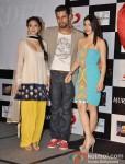 Aditi Rao Hydari, Randeep Hooda And Sarah Loren At Murder 3's Music Success Bash Pic 2