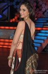Aditi Rao Hydari on the sets of Nach Baliye 5