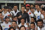 Aftab Shivdasani, Sunil Shetty, Salman Khan and Bobby Deol at CCL 3 Dubai and Ranchi Match