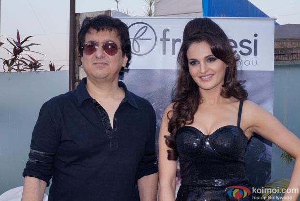 Sajid Nadiadwala and Monica Bedi