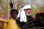 Ajay Devgn and Amitabh Bachchan in Satyagraha Movie Stills