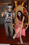 Ali Zafar and Taapsee Pannu at Music Launch of Film Chashme Baddoor