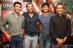 Amit Sadh Abhishek Kapoor, Sushant Singh Rajput and Chetan Bhagat At 'Kai Po Che!' Apparel Collection Launch