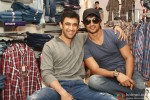 Amit Sadh and Sushant Singh Rajput At 'Kai Po Che!' Apparel Collection Launch