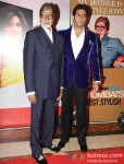 Amitabh Bachchan And Abhishek Bachchan at 'Hindustan Times Mumbai's Most Stylish 2013' Awards Pic 2