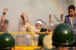 Amitabh Bachchan and Ajay Devgn in Satyagraha Movie Stills Pic 1