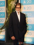Amitabh Bachchan at the Zee TV 20 Yrs Celebration Party