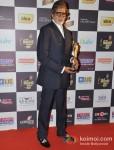 Amitabh Bachchan walk the Red Carpet of 'Mirchi Music Awards' 2013 Pic 1