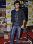 Anshuman Jha at the launch of Author Shatrujeet Nath's book The Karachi Deception