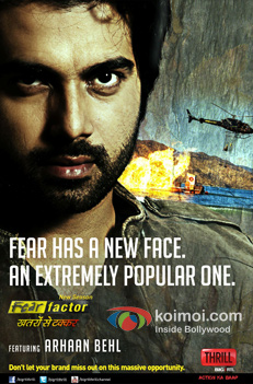 Arhaan Behl For Fear Factor