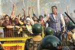 Arjun Rampal, Amitabh Bachchan and Ajay Devgn in Satyagraha Movie Stills