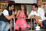 Arshad Warsi, Geeta Basra and Sanjay Dutt At Music Launch of Zila Ghaziabad Pic 1