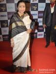 Asha Bhosle walk the Red Carpet of 'Mirchi Music Awards' 2013