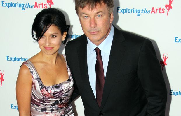 Alec Baldwin with wife Hilaria Thomas