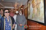 Bappi Lahiri at Prithvi Soni's Painting Exhibition Pic 2