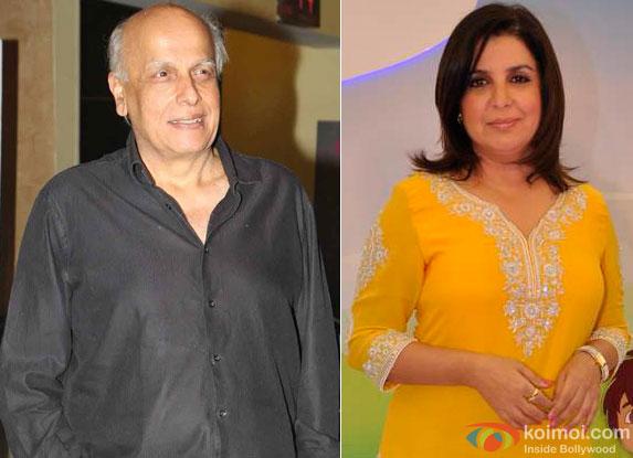 Mahesh Bhatt and Farah Khan