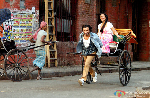 On The Sets Of Bullett Raja Movie