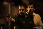 Chandrachur Singh and Vivek Oberoi in Zila Ghaziabad Movie Stills