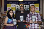 Chandrima Pal, R Balki at the launch of Author Shatrujeet Nath's book The Karachi Deception Pic 2