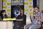 Chandrima Pal, R Balki at the launch of Author Shatrujeet Nath's book The Karachi Deception Pic 1