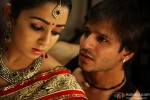Charmy Kaur and Vivek Oberoi in Zila Ghaziabad Movie Stills Pic 1