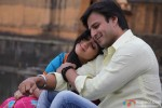 Charmy Kaur and Vivek Oberoi in Zila Ghaziabad Movie Stills Pic 2