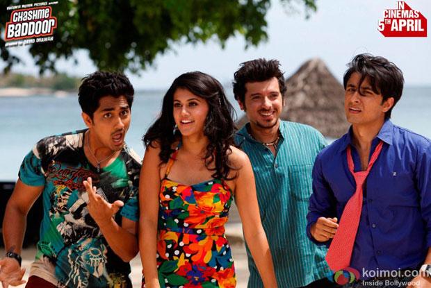 Still from Chashme Baddoor Movie