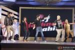 Farah Khan, Shekhar Ravjiani and Vishal Dadlani at IPL Press Meet