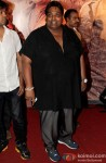 Ganesh Acharya at Premiere of Zila Ghaziabad Movie