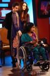 Gautam Gambhir and Aishwarya Rai at Zindagi Live Awards