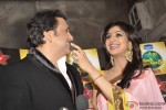 Govinda and Shilpa Shetty on the sets of 'Nach Baliye 5' Pic 1