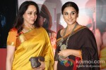 Hema Malini And Vidya Balan at 'Hindustan Times Mumbai's Most Stylish 2013' Awards