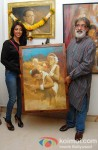 Hottie Paoli Dam at Prithvi Soni's Painting Exhibition Pic 1