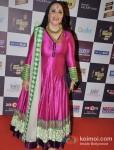 Ila Arun walk the Red Carpet of 'Mirchi Music Awards' 2013