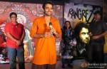 Vashu Bhagnani, Jackky Bhagnani and Pinky Bhagnani At Trailer Launch Of Film 'Rangrezz'